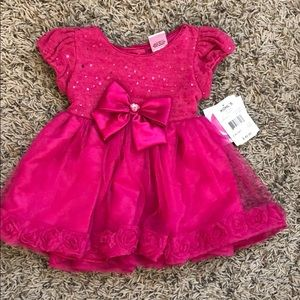NWT Pretty Pink Toddler Dress